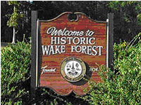 HISTORIC WAKE FOREST